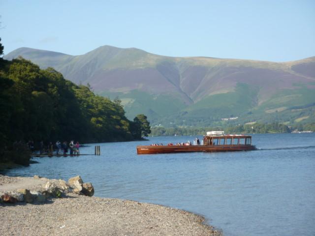 A boat on Derwent Water