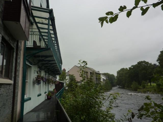 Keswick YHA next to the river