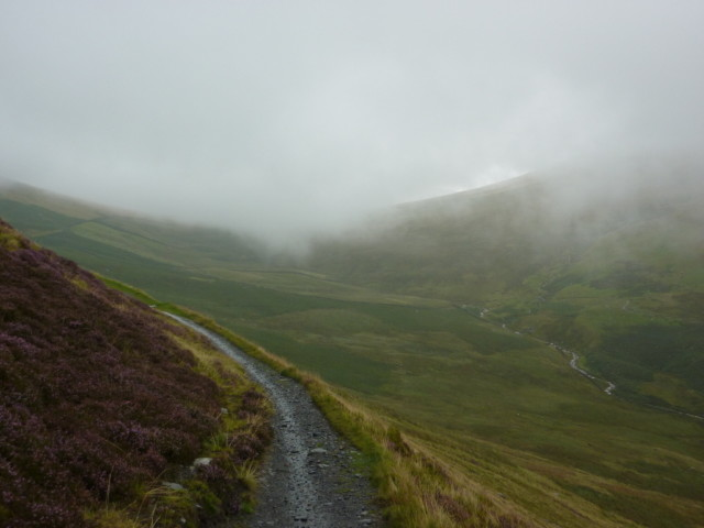 Lonscale Fell on the Cumbria Way