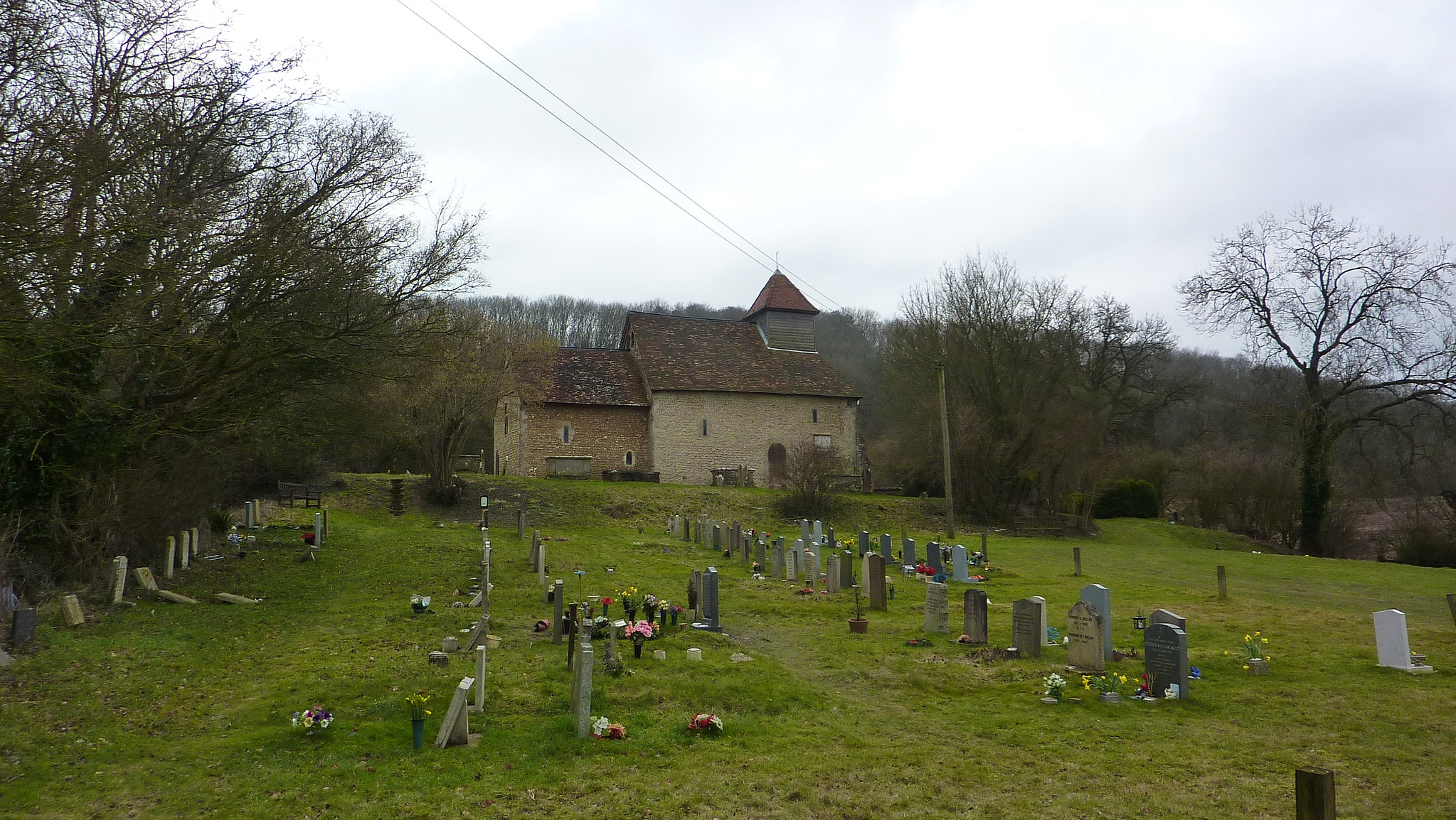 St Andrew's Church in Chilcomb