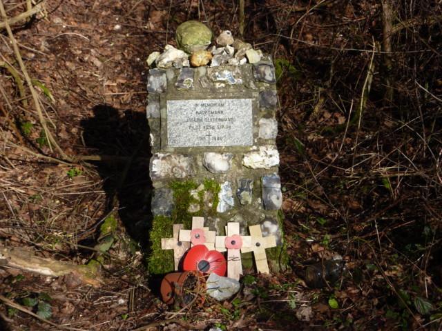 A small war memorial
