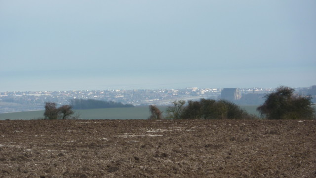 View of Brighton, seen from the South Downs Way