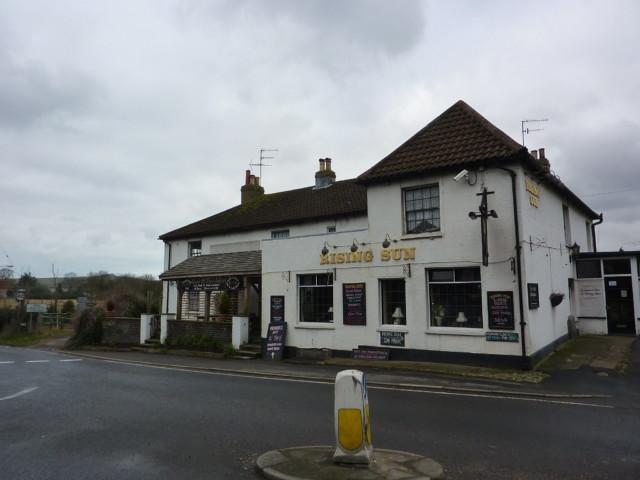 The Rising Sun pub in Upper Beeding