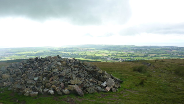 Cairn on Dent Hill