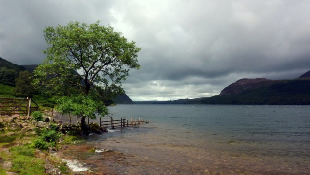 The end of Ennerdale Water