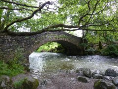 The bridge outside Borrowdale YHA