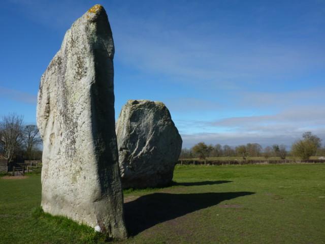Two stones from Avebury Henge