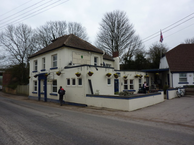 The Inn With The Well pub in Ogborne St George