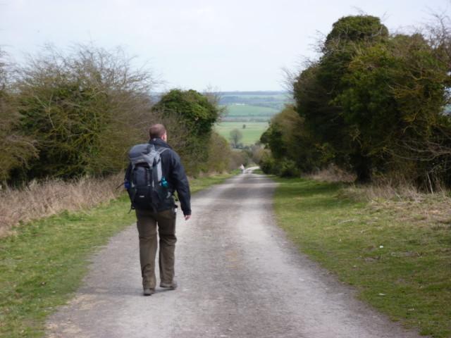 A straight path