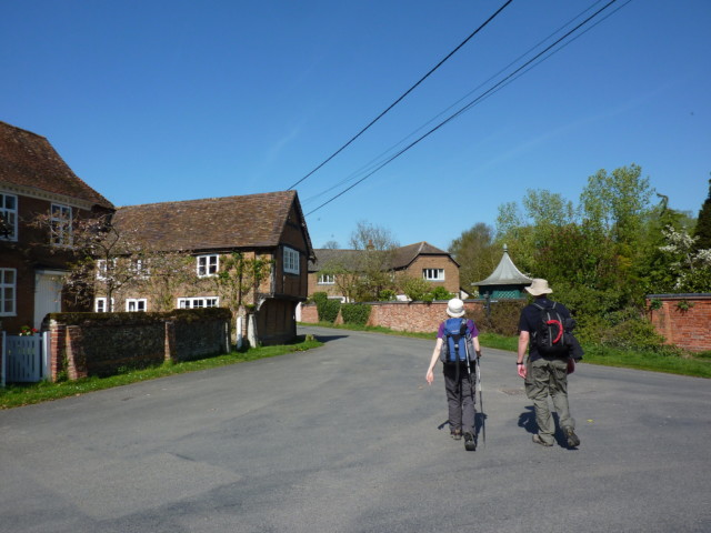 Houses in the village of South Stoke