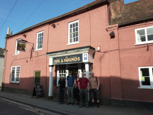 The Fox and Hounds pub, Watlington