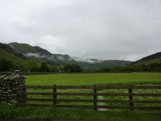 Clouds over Langdale