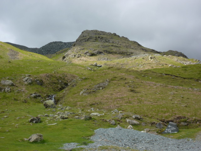 Footpath to the Old Man of Coniston