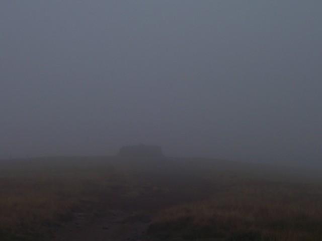 Heavy cloud on Great Shunner Fell