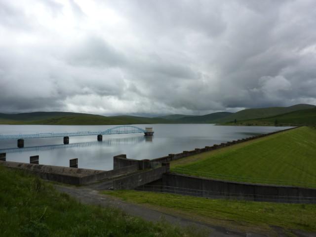 Daer Reservoir and Dam