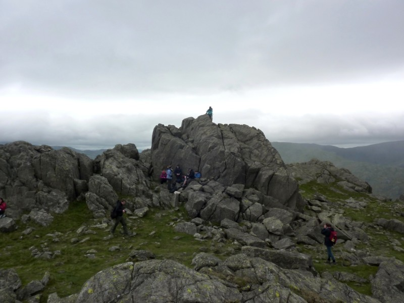 The summit of Harter Fell