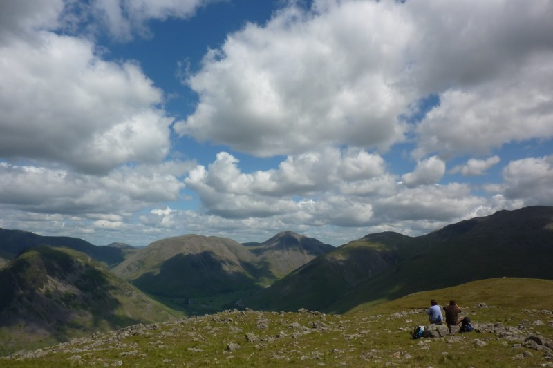 The view from Illgill Head