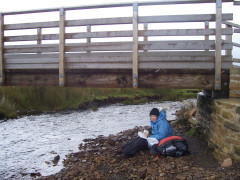 You haven't done the Pennine Way properly if you haven't had to eat lunch huddled under a bridge