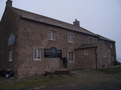 Tan Hill Inn, the most famous pub on the Pennine Way