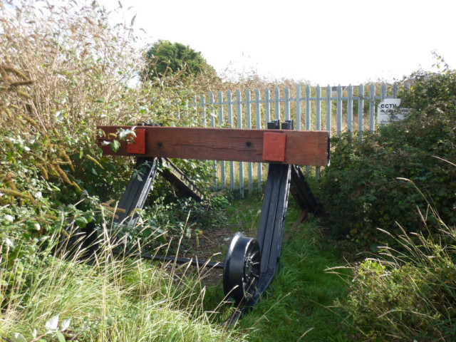 Buffer stops at Shoreham-by-sea