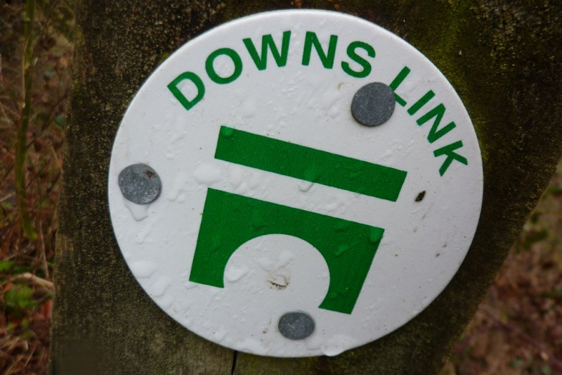 Downs Link waymark