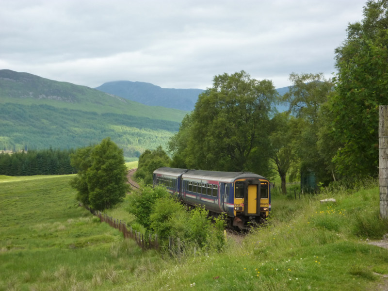 Train in the West Highlands