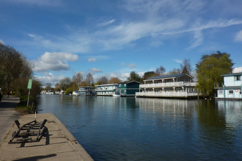 The Thames at Molesey