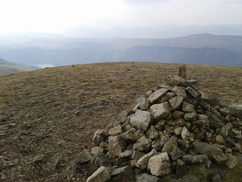 Cairn on the top of Watson's Dodd