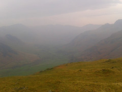 Langdale in the haze