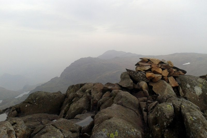 Cairn on the top of Sergeant Man