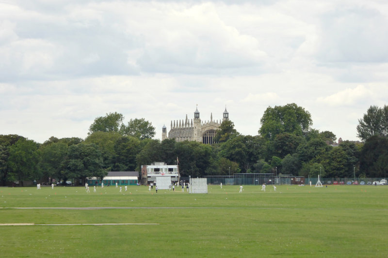 Home Park, with Eton in the background
