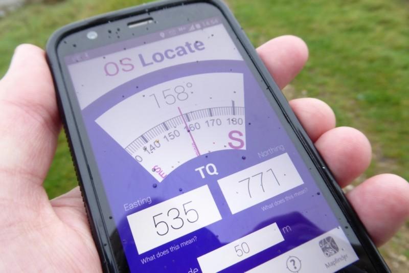 OS Locate app