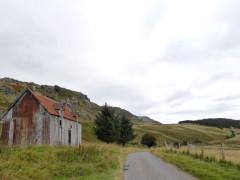 Barn on the East Highland Way, near Laggan