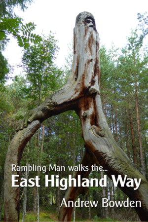 Rambling Man Walks the East Highland Way book cover