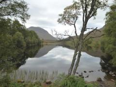 An Dubh Lochan, near Feagour on the East Highland Way