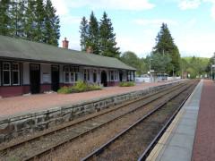 Tulloch railway station
