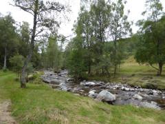 Allt Laraidh near Newtonmore