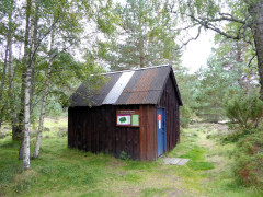 Drakes Bothy, on the East Highland Way