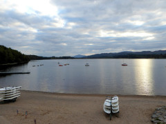 Loch Insh, seen from the Watersports Centre