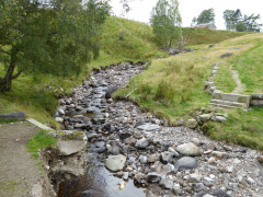 A non-existant bridge just outside of Newtonmore