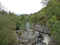 River Tromie, seen from the East Highland Way