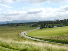 View from Ruthven Barracks