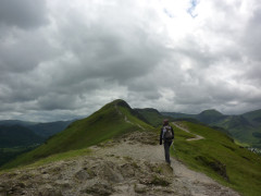 The path going up Catbells