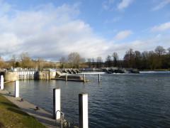 Mapledurham Lock on the Thames Path
