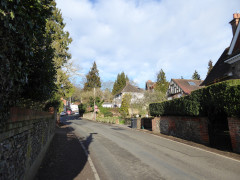 The village of Whitchurch