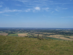 The first photograph I took on a walk – a shot near Devil's Dyke in Sussex