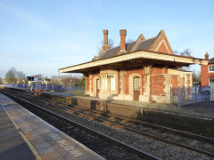 Original station buildings of Culham railway station