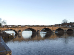 Henley Bridge in Henley-on-Thames