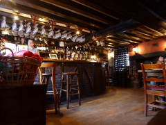 The bar of The Bull Inn, Sonning