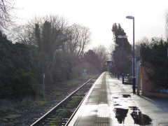 Shiplake railway station